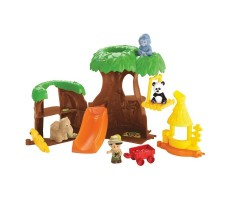 Fisher Price Zestaw Tropikalne zoo