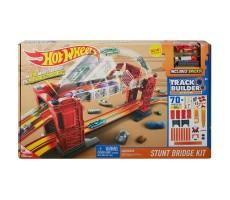 Hot Wheels Track Builder Kaskaderski most Zestaw do konfiguracji DWW97